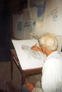 Le Sculpteur Petrus et ses dessins