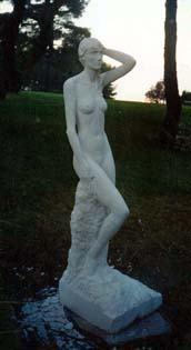Statue en pied Taille directe