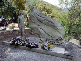 Monument de la Résistance de l'Est Varois (taille directe)