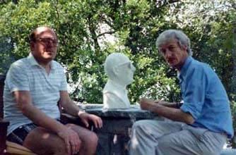 Buste en pierre du Pr Hilsdorf Taille directe