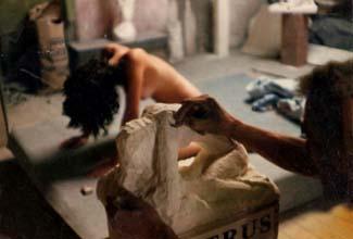 Création d'une sculpture respectant l'anatomie artistique