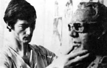 1972 - Modelage original du buste de M. Tiphaigne