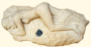 Sculpture en taille directe  respectant les proportions du corps