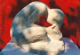 1992 - Taille directe Sculpture en ronde-bosse