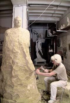 Une statue en pierre : Les étapes de la création