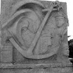 Photo noir et blanc du Mémorial
