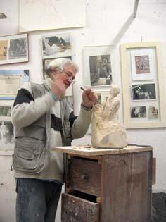 L'artiste sculpteur face à la matière