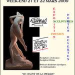 """""""Sculptures et Poèmes"""" Week-End """"Portes Ouvertes"""""""