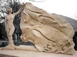 1991 -Le Monument de la Résistance de l'Est-Varois Taille directe