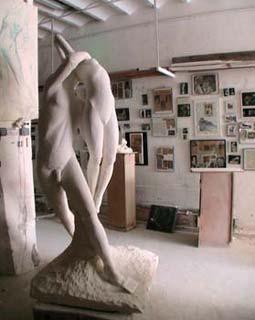 """""""Le Cantiques des Cantiques"""" dans l'atelier à Nice"""