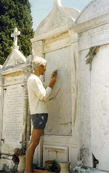 Restauration de la tombe de Victor Tuby