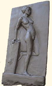 Modelage original dun bas-relief