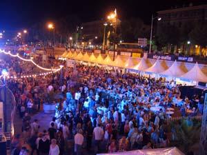Le port de Nice en fête le 8 septembre