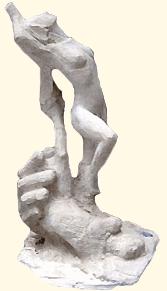 """""""La Genèse"""", taille directe"""