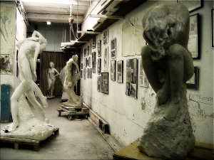 L'atelier du Sculpteur Pétrus (détail)
