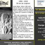 Article sur la stèle de Paulette Duhalde, exposée au Musée du Château de Flers de l'Orne