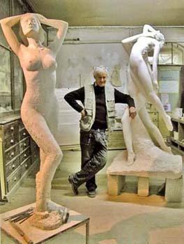 Le Sculpteur Pétrus vu par Elisabeth Novick