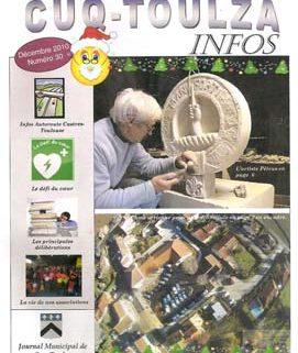 Le bulletin de la municipalité de Cuq-Toulza