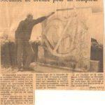 Le Sculpteur Pétrus vient de recevoir le diplôme et la médaille de bronze des Arts et Lettres de France