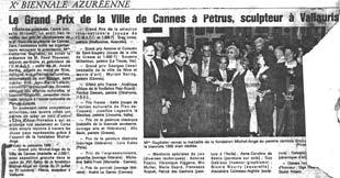 Le Grand Prix de la ville de Cannes vu par Nice Matin