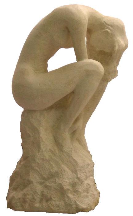 Le Silence, sculpture sur pierre