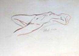 Nu féminin - Pastel, 2003