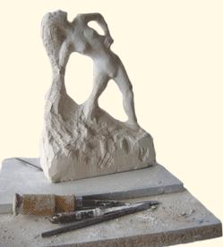 Sculpture en hommage au mouvement