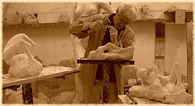 Création des trois sculptures