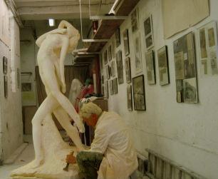 """10-12-2007 : Le Sculpteur Pétrus et """"Le Cantique des Cantiques"""""""