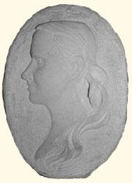 Profils et effigies en bas-relief