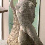 La sculpture dans la galerie de l'atelier