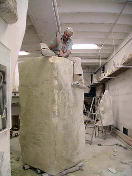 2008 - Début de la création d' une statue