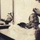 buste d'enfant : séance de pose