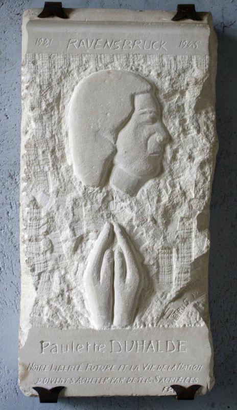 Sculpture commémorative de Paulette Duhalde