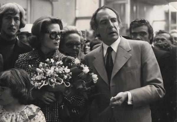Grace de Monaco et le Sculpteur Pétrus à Caen