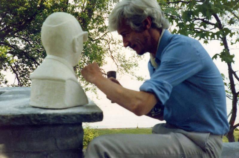 buste en pierre
