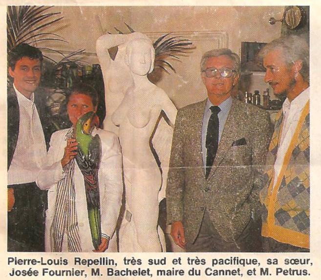 Photo du Groupe Les Deux Soeurs dans le Figaro Magazine