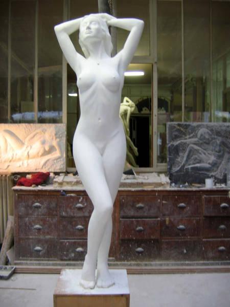 Une autre vue de la statue