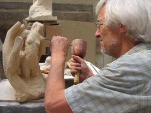 """Sculpture """"La Création d'Eve"""""""