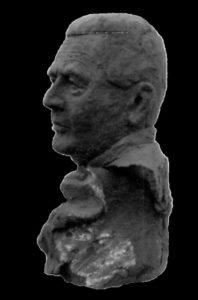 Le Buste du Dr Porin à Caen