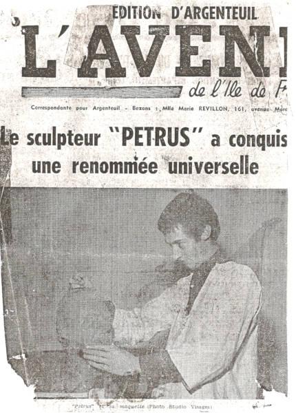 Le buste de Félix Gaillard dans la presse