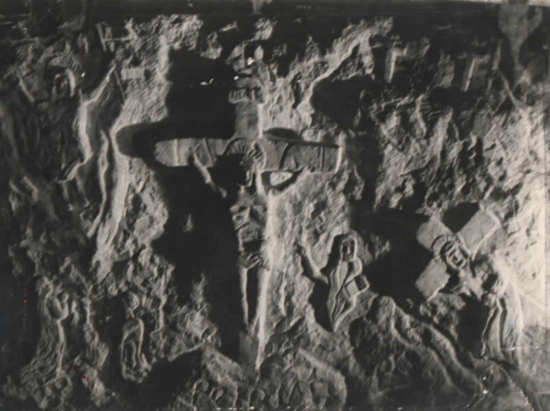 Bas-relief en pierre
