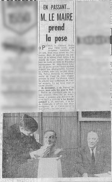 le buste dans la presse