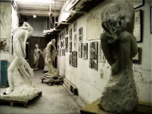 05/11/07 - Aperçu de l'univers du sculpteur