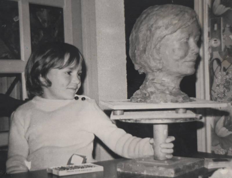 Buste du fils de M. Thierry Raison