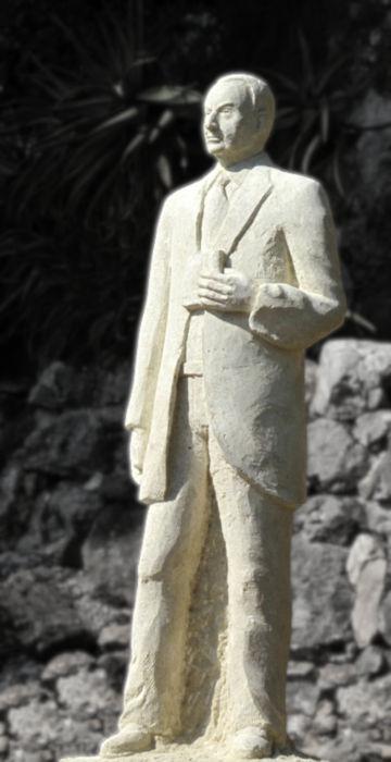 La statue de Jean Moreau