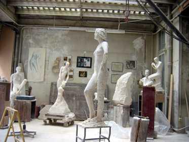 12/04/2006 : l'atelier à Paris