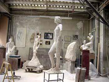 L'atelier parisien en 2006