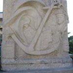 """Stèle commémorative de l'AMMAC """"A la mémoire des Marins péris en Mer"""""""