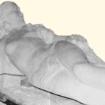 Détail du gisant mortuaire